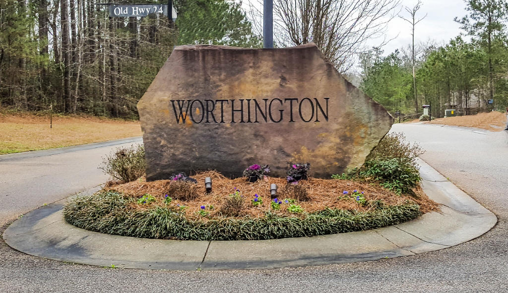 Worthington sign